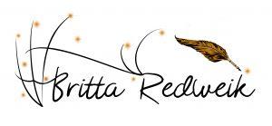 Schriftzug Britta Redweik