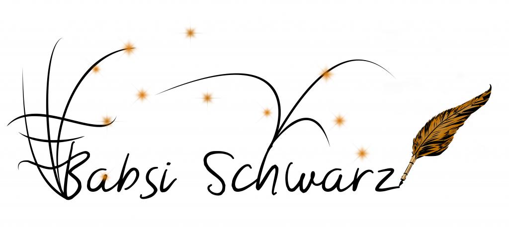 Schriftzug Babsi Schwarz