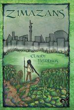 Cover mit einer weiblichen Figur in der Natur am Horizont graue Stadtsilhouette