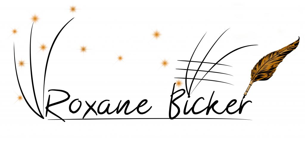 Schriftzug Roxane Bicker