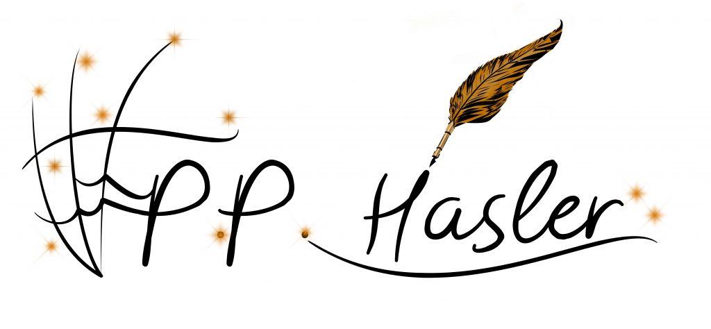 Schriftzug P.P. Hasler