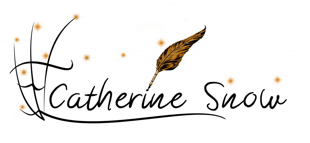 Schriftzug Catherine Snow