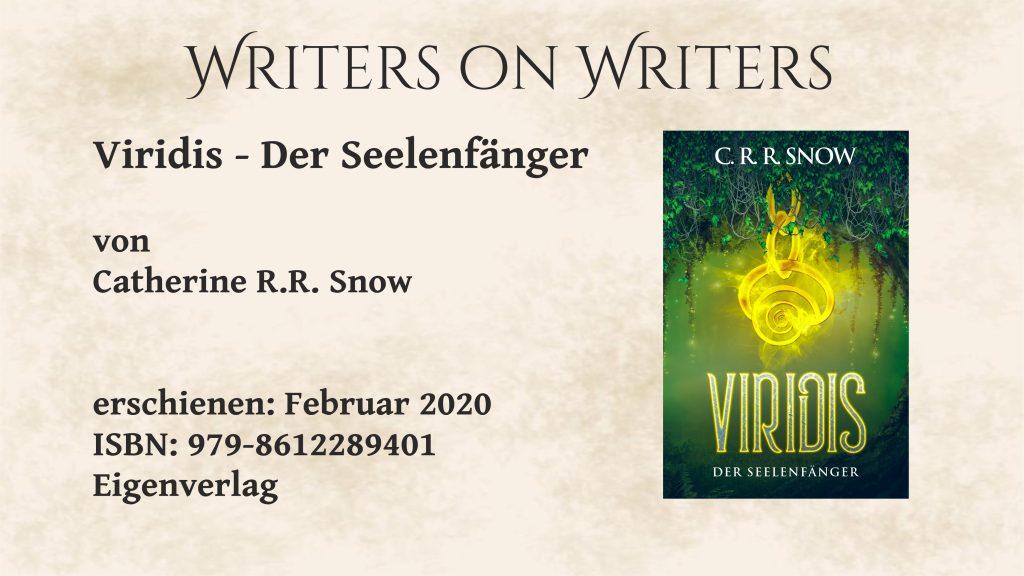 Writers on Writers Cover Viridris
