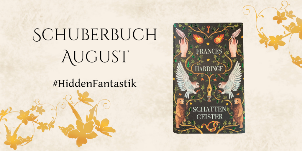 Buchcover Schattengeister – Frances Hardinge