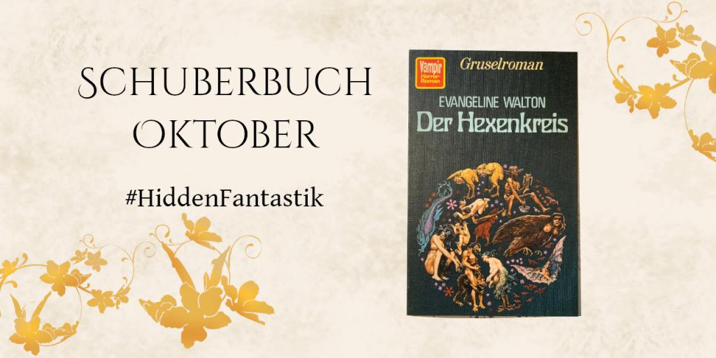 """Buchcover """"Der Hexenkreis""""  Kreis mit verschiedenen Gestalten"""